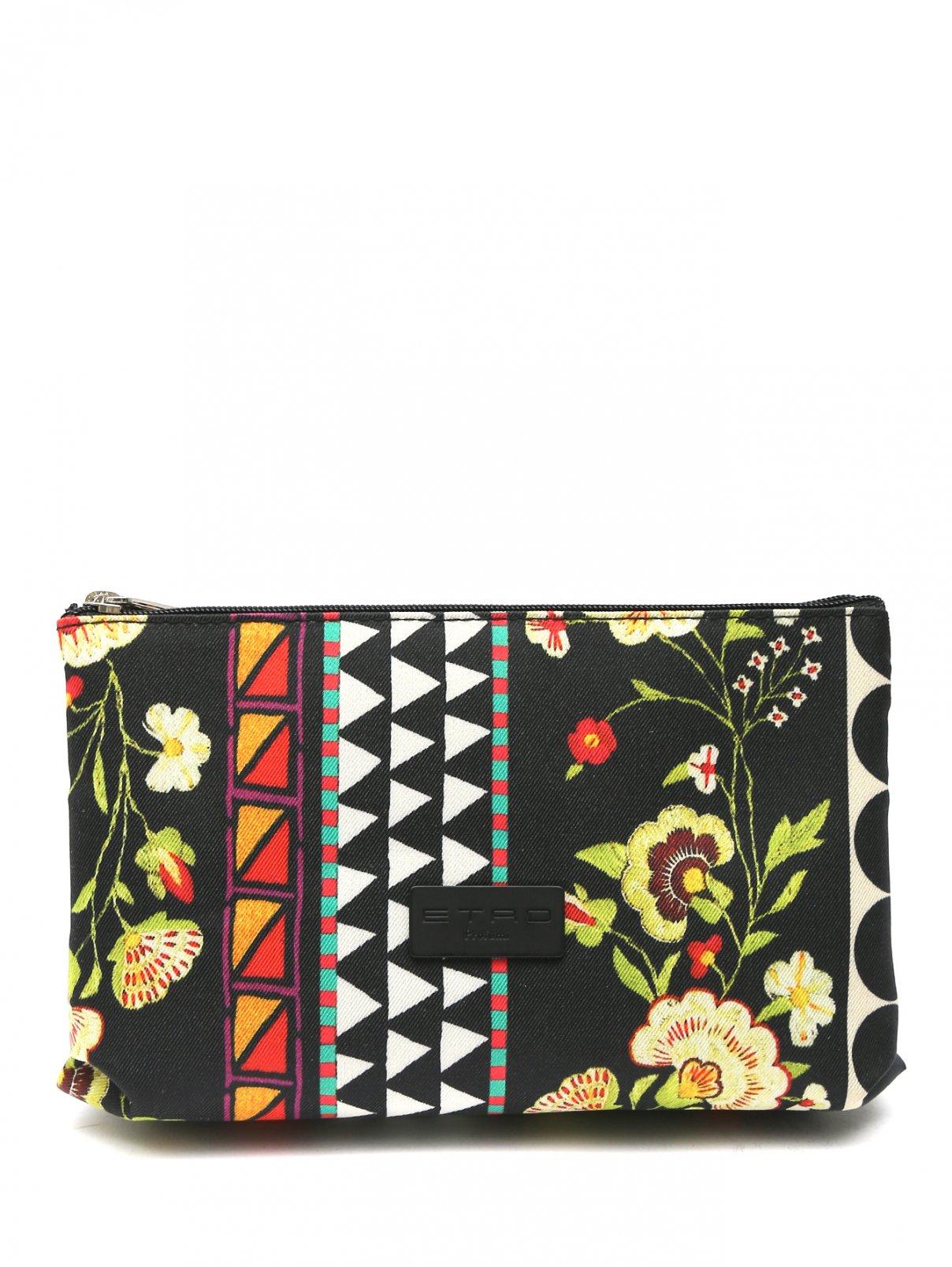 Косметичка текстильная с узором Etro  –  Общий вид
