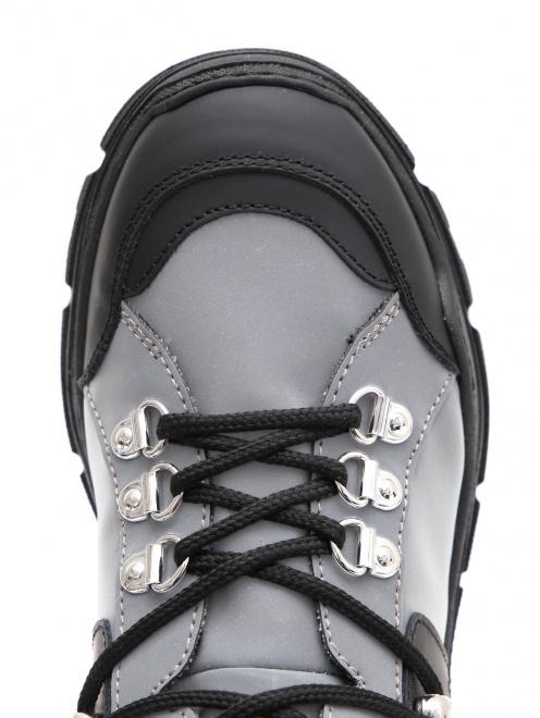Ботинки на массивной подошве Gallucci - Обтравка3