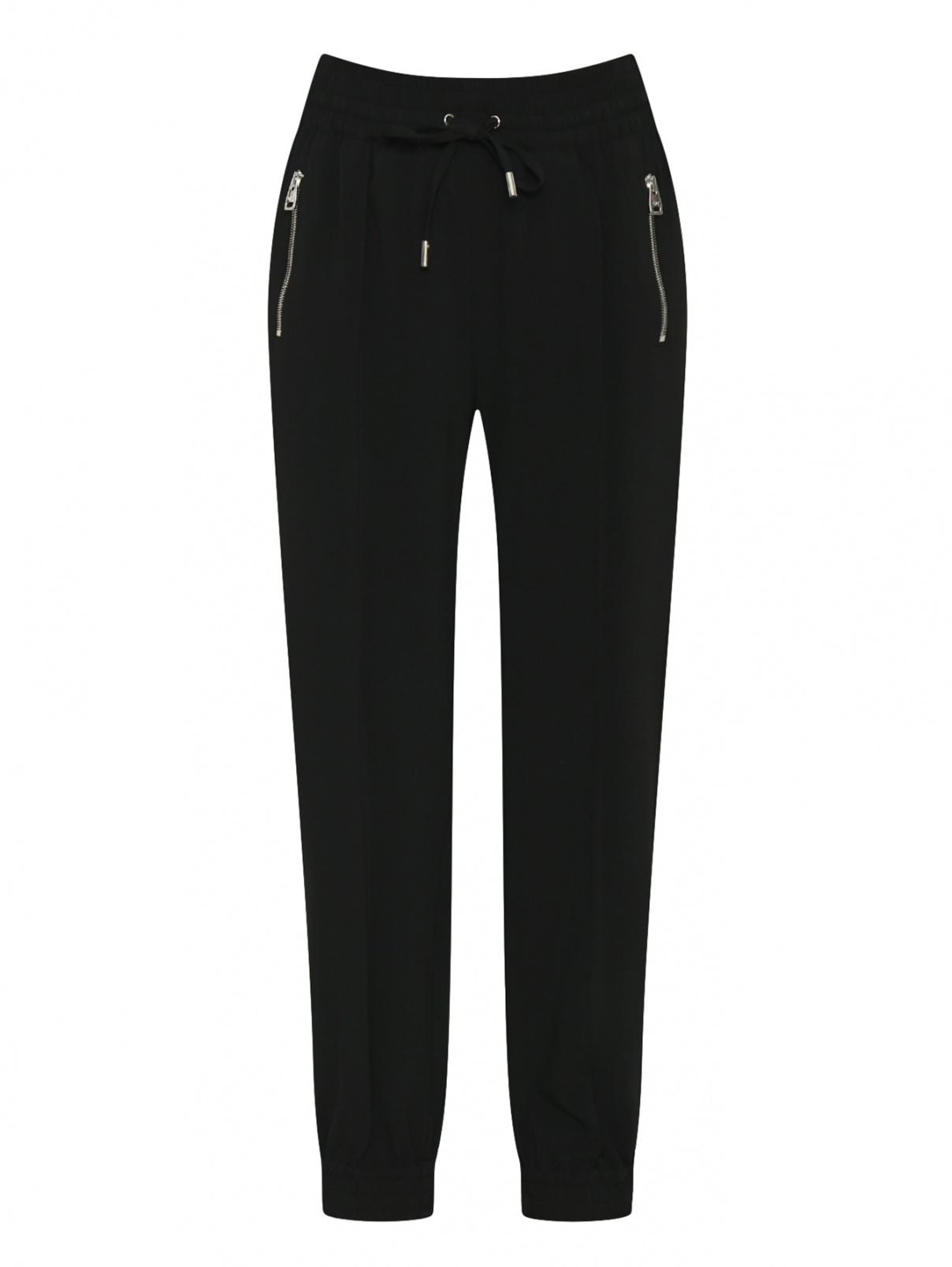Трикотажные брюки на резинке Ermanno Scervino  –  Общий вид