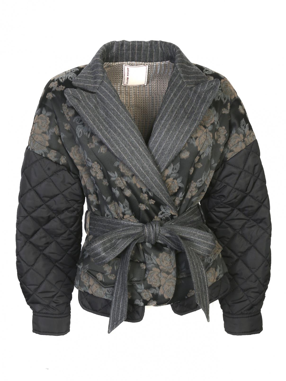 Стеганая куртка с узором Antonio Marras  –  Общий вид