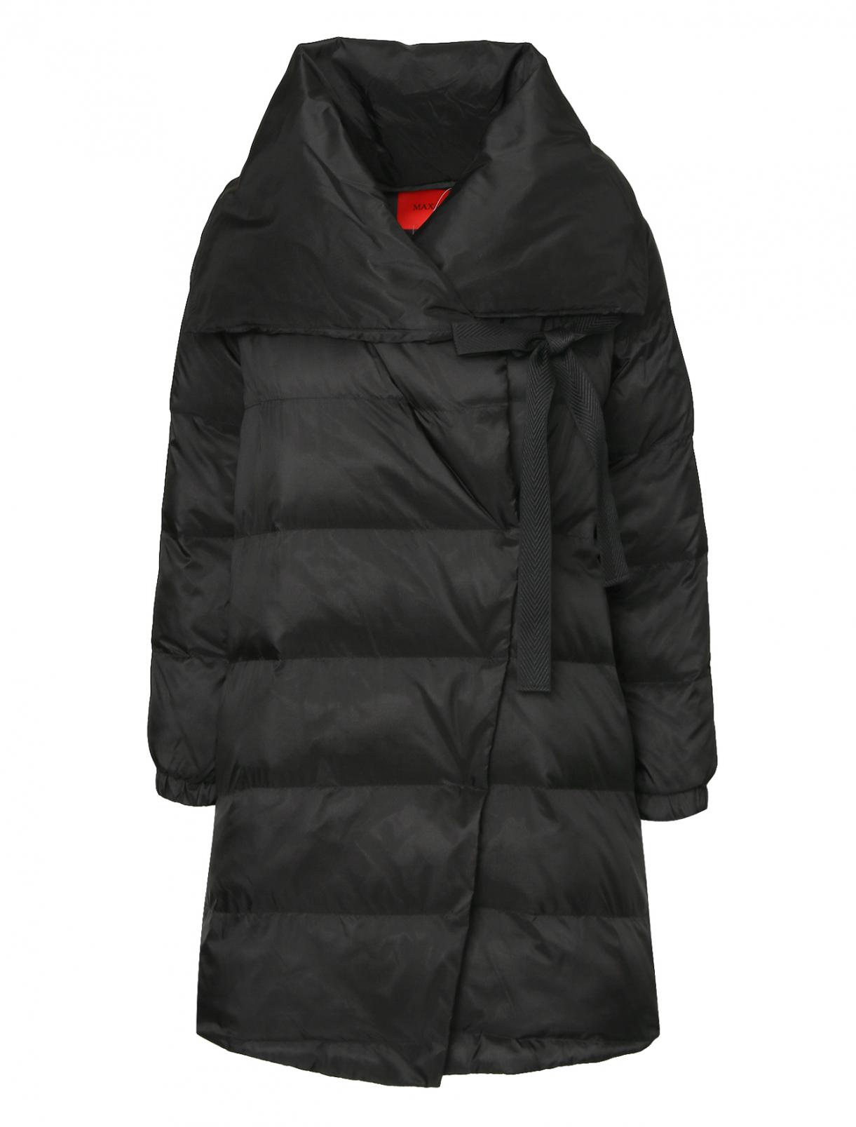 Утепленная куртка с капюшоном Max&Co  –  Общий вид