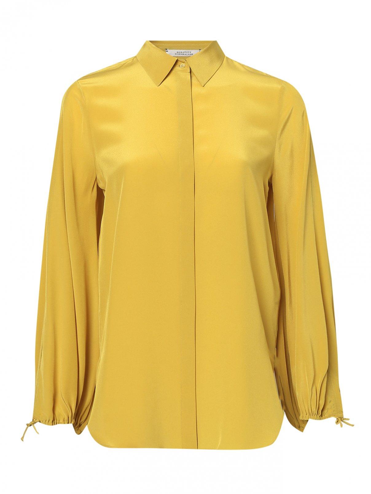 Блуза из шелка свободного кроя Dorothee Schumacher  –  Общий вид