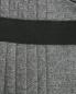 Юбка из смешанной шерсти асимметричного кроя Ermanno Scervino  –  Деталь