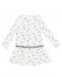 Платье трикотажное с декором Sanetta  –  Обтравка1