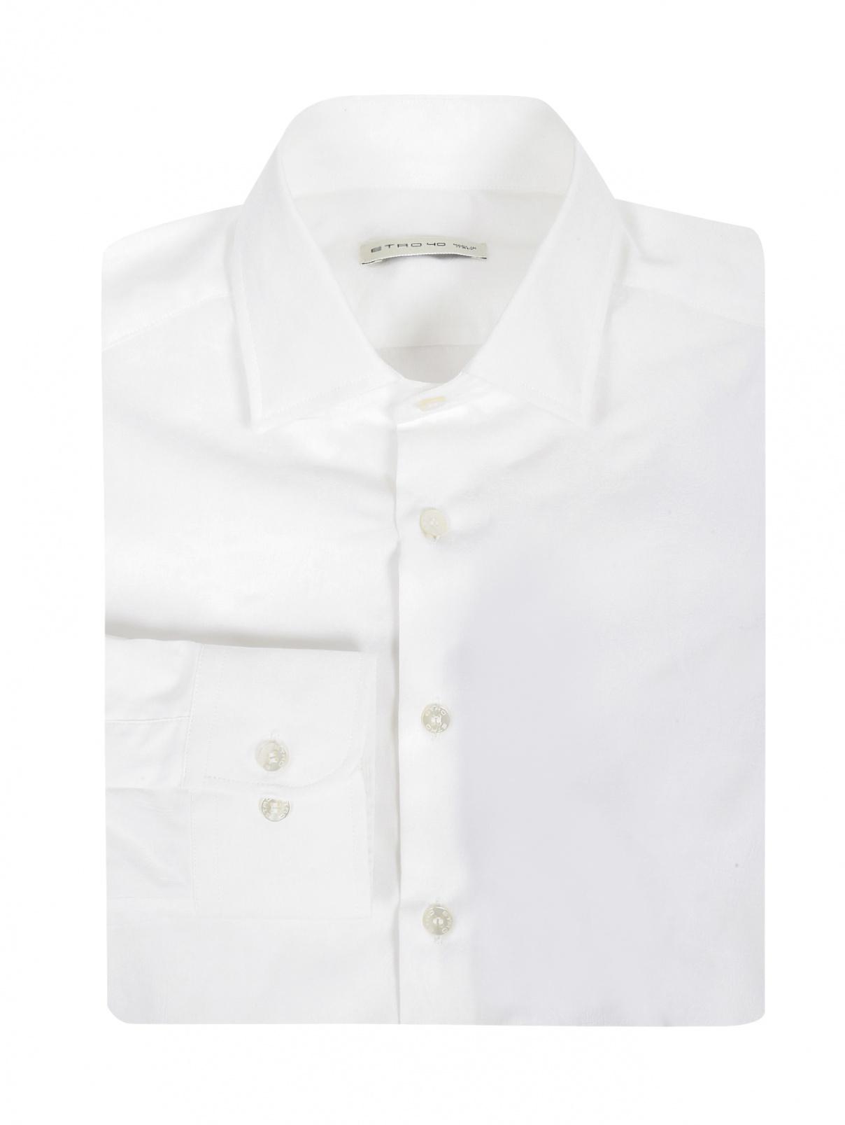 """Рубашка из хлопка с узором """"пейсли"""" Etro  –  Общий вид"""