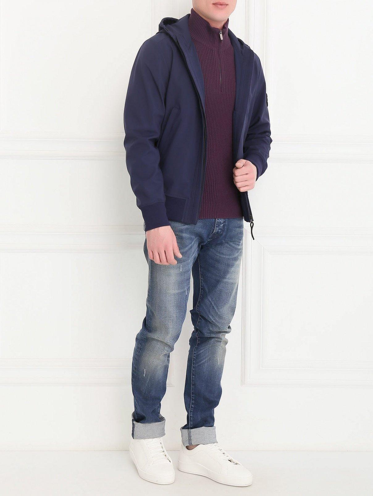 Куртка с капюшоном Stone Island  –  Модель Общий вид