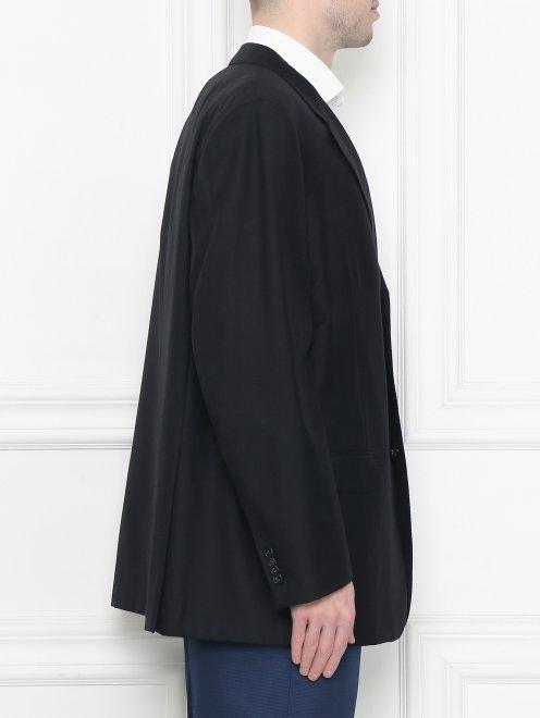 Пиджак однобортный из шерсти - МодельВерхНиз2
