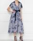 Платье-миди с декоративной вышивкой Antonio Marras  –  МодельОбщийВид