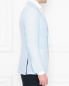 Пиджак из хлопка с накладными карманами Belvest  –  МодельВерхНиз2