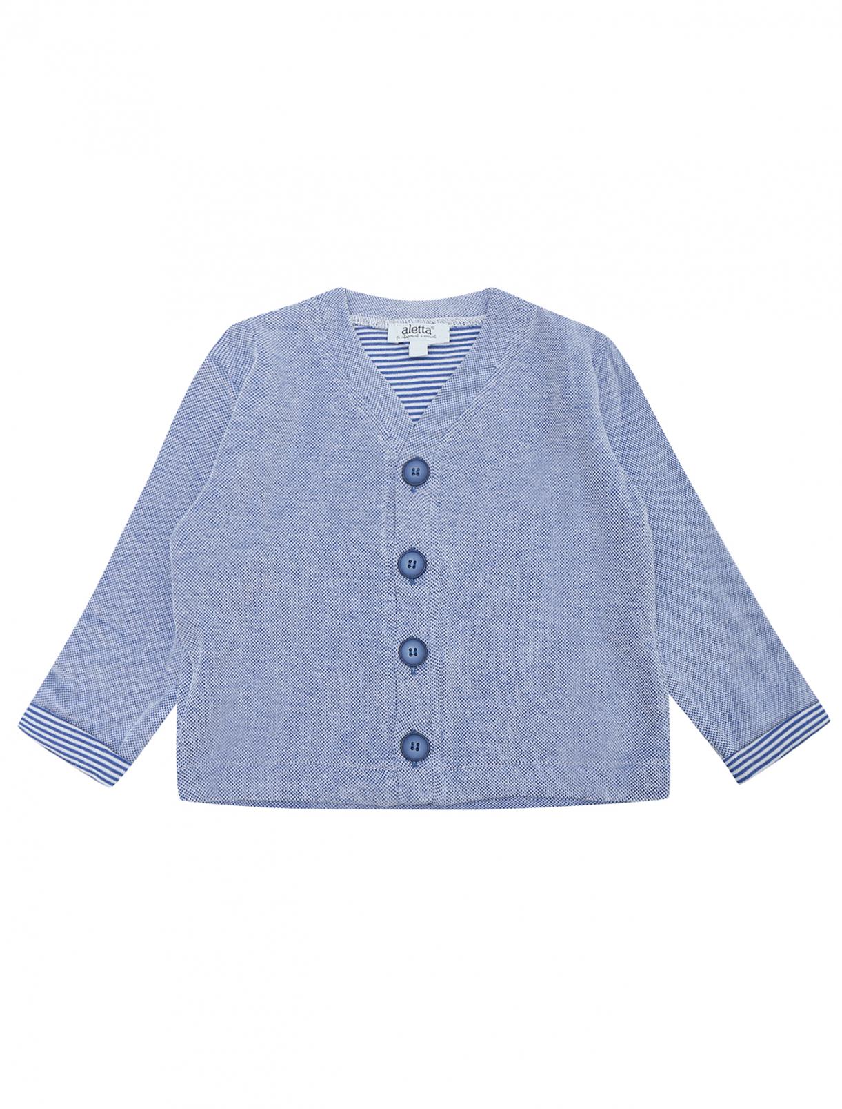 Кардиган на хлопковой основе Aletta Couture  –  Общий вид