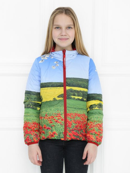 Куртка двухсторонняя с капюшоном Freedomday - МодельОбщийВид1
