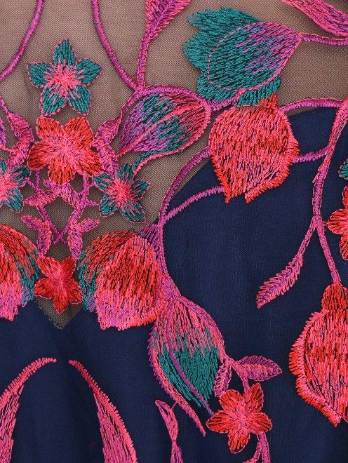 Платье-макси с цветочным узором - Деталь