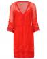 Платье-мини из шелка с вышивкой Alberta Ferretti  –  Общий вид