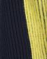 Укороченный джемпер из смешанной шерсти с контрастной вставкой Sportmax  –  Деталь