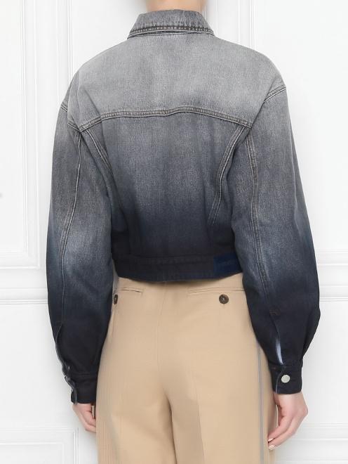 Куртка джинсовая из хлопка Max Mara - МодельВерхНиз1