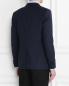 Пиджак однобортный со вставками из шерсти Pal Zileri  –  МодельВерхНиз1