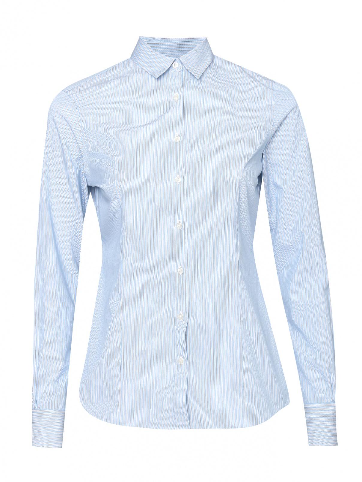 Рубашка из хлопка в полоску Brooks Brothers  –  Общий вид