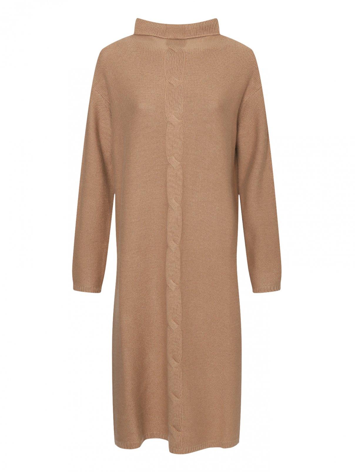 Трикотажное платье из шерсти и кашемира Max Mara  –  Общий вид