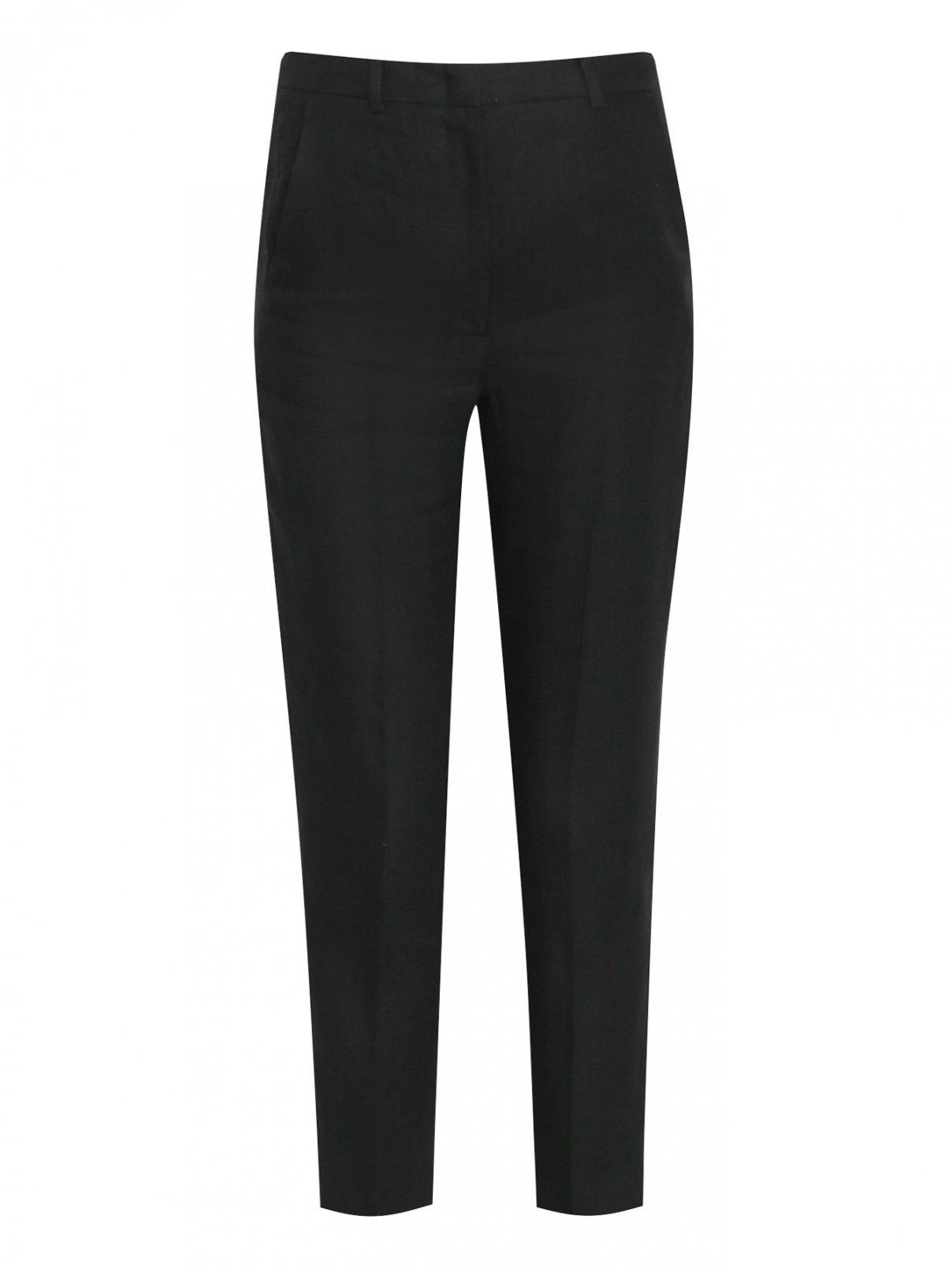 Укороченные брюки из льна Weekend Max Mara  –  Общий вид
