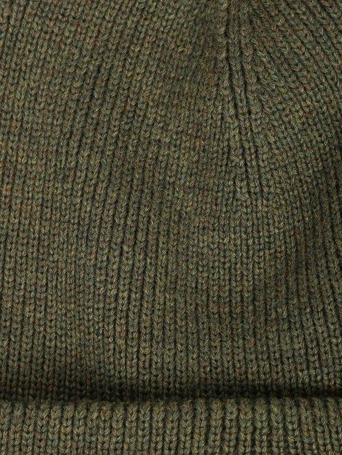 Шапка из шерсти с контрастной вставкой Canada Goose - Деталь1