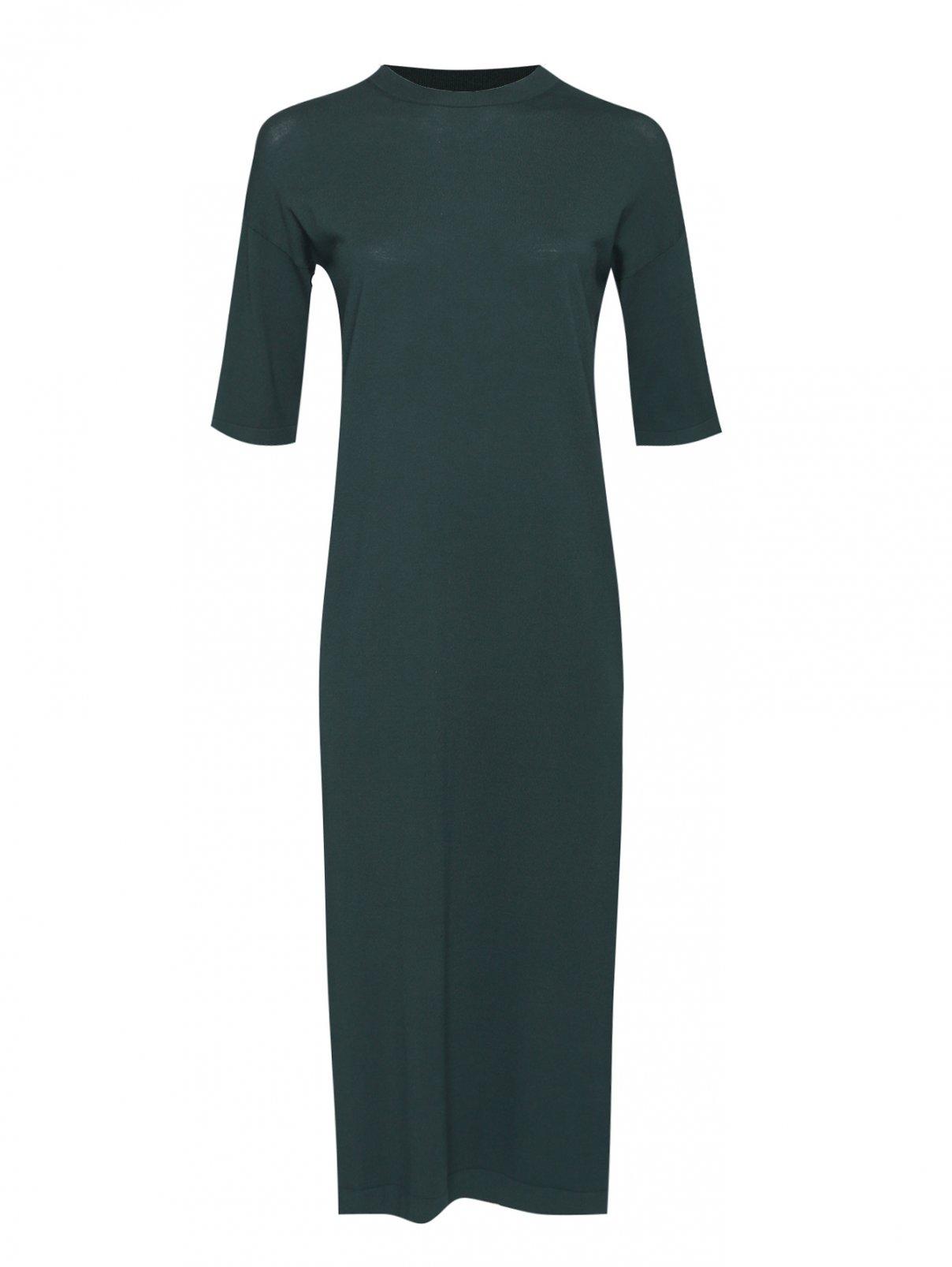 Платье из вискозы однотонное Weekend Max Mara  –  Общий вид