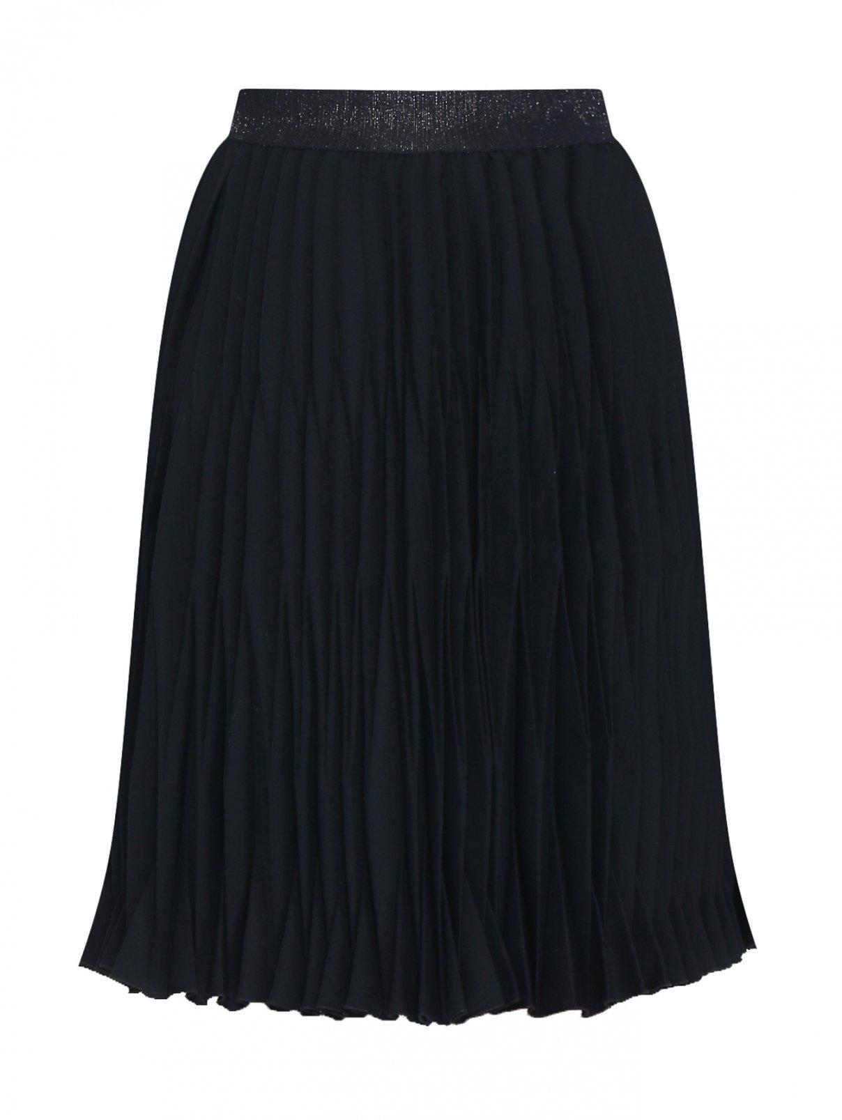 Юбка плиссированная из смессовой шерсти Aletta Couture  –  Общий вид