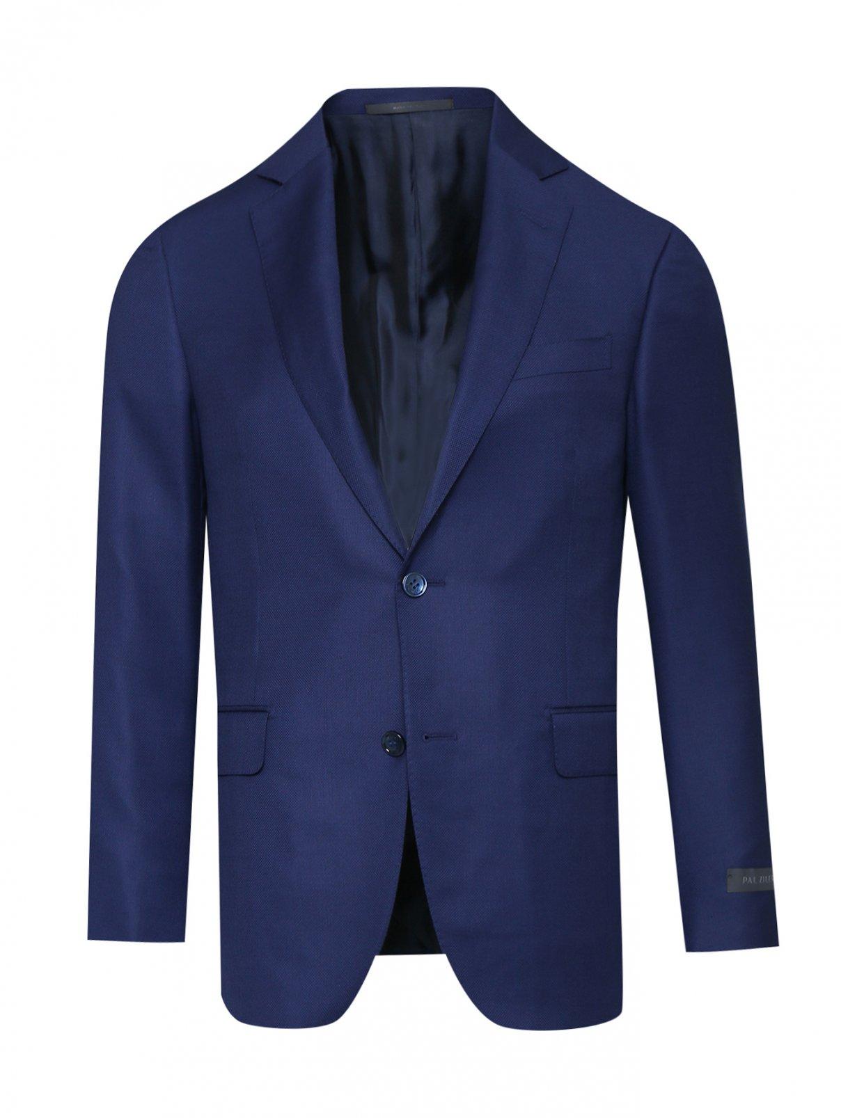 Пиджак однобортный из шерсти Pal Zileri  –  Общий вид