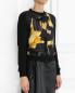 Джемпер из шерсти и кашемира с шелковой вставкой Moschino Couture  –  Модель Верх-Низ