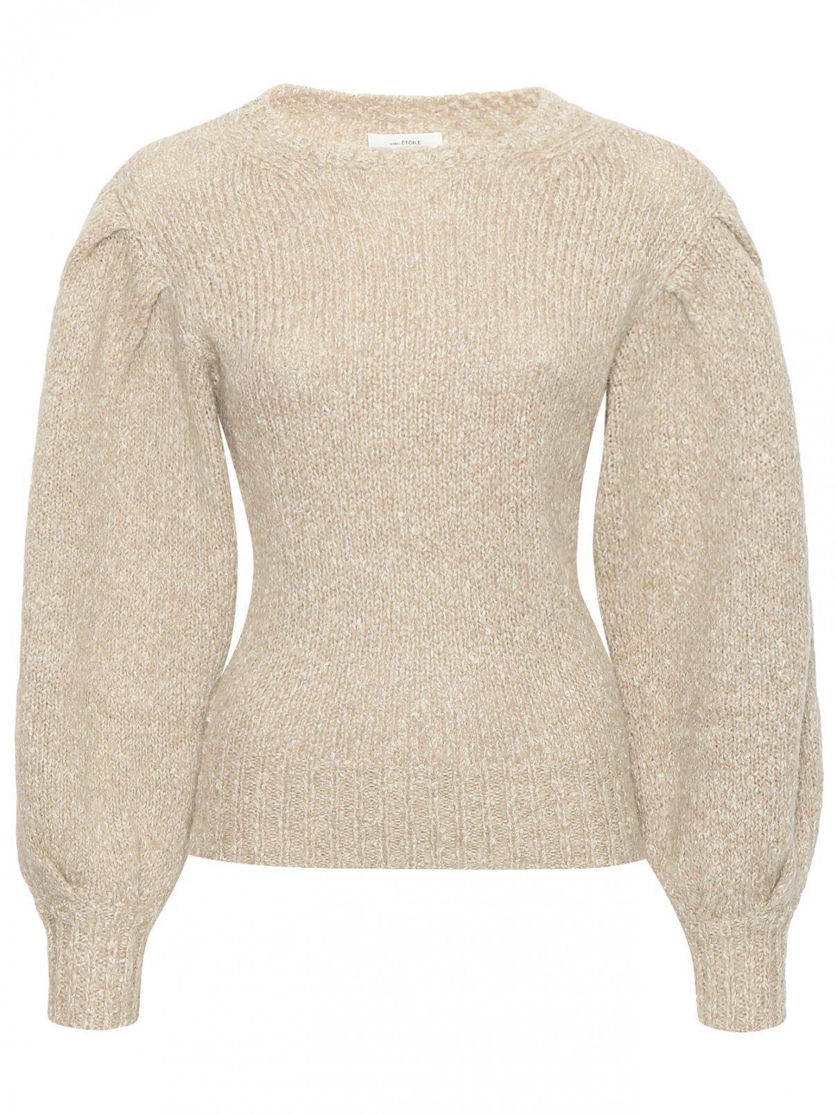 Джемпер из шерсти и хлопка с круглым вырезом Isabel Marant  –  Общий вид
