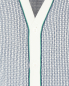 Трикотажный жилет из хлопка с узором Kangra Cashmere  –  Деталь1