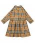 Платье хлопковое в клетку Burberry  –  Обтравка1